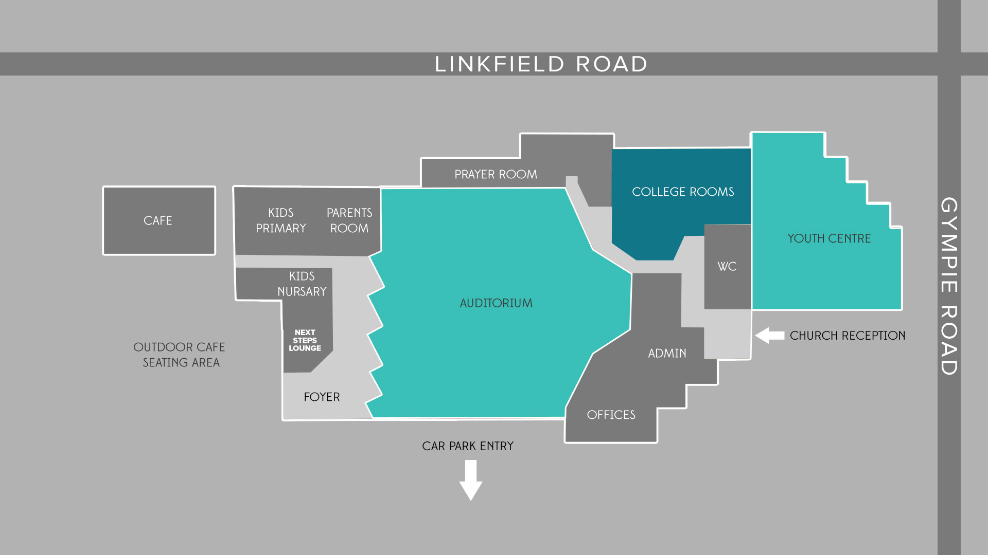 C3 Church Building map